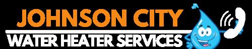 Johnson City Water Heater Services Logo (white)