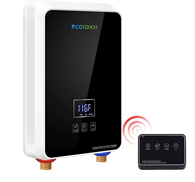 modern wifi tankless water heater